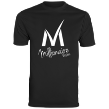 Load image into Gallery viewer, Millionaire Vision T-Shirt - Black/White