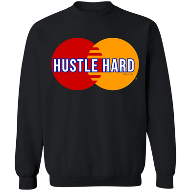 Hustle Hard Sweater - Black