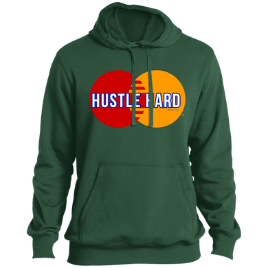 Hustle Hard Hoodie - Forest Green