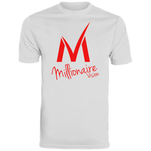 Load image into Gallery viewer, Millionaire Vision T-Shirt - White /Red