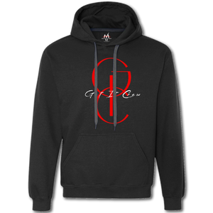 Get In Crew LE Hoodie- Black/Red