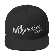 Load image into Gallery viewer, Signature Snapback - Solid Black/White