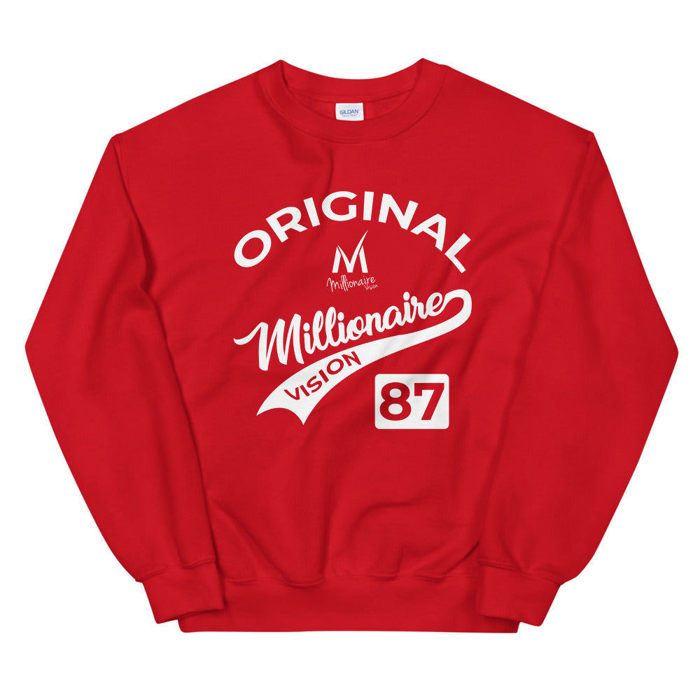 Derby Logo Sweatshirt - Red