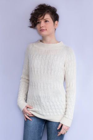 Cables Mixed Pullover