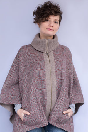 Reversible Detail Cape