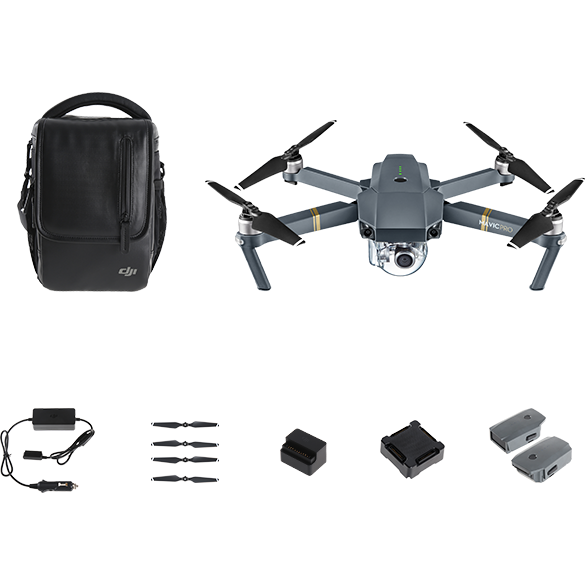 DJI Mavic Pro Fly More Combo (Factory Refurbished)