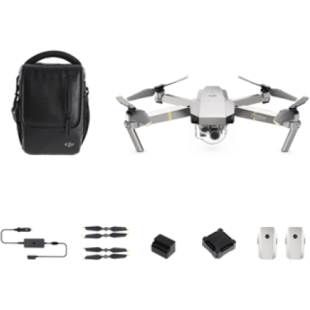 DJI Mavic Pro Platinum Fly More Combo (Open Box)