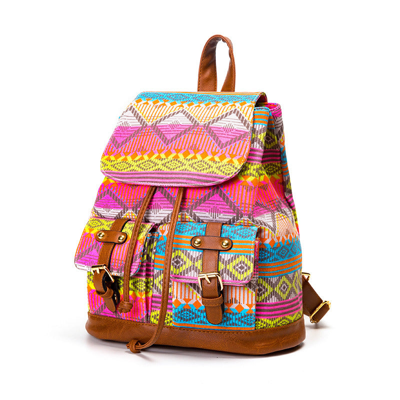 Canvas Print Backpacks