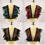 Decrative Feathered Bolero