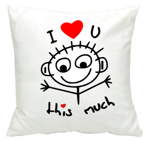 i love you this much cushion baillie s personalised gift s