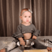 Clara's Belly Crop Set - Rowley's Baby Boutique  - Express U.S. Delivery