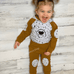 Bear Hooded Outfit