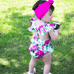 Serenity's Floral Playsuit