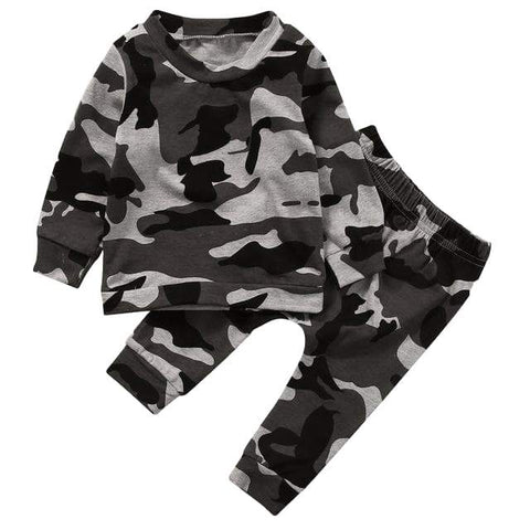 Camouflage Outfit - Rowley's Baby Boutique  - Express U.S. Delivery