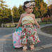 Floral Skirt Set - Rowley's Baby Boutique  - Express U.S. Delivery