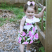 Fruit Pinki Dress - Rowley's Baby Boutique  - Express U.S. Delivery
