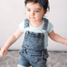 Emilia's Denim Overall - Rowley's Baby Boutique  - Express U.S. Delivery
