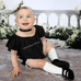 Abigail Black Outfit - Rowley's Baby Boutique  - Express U.S. Delivery