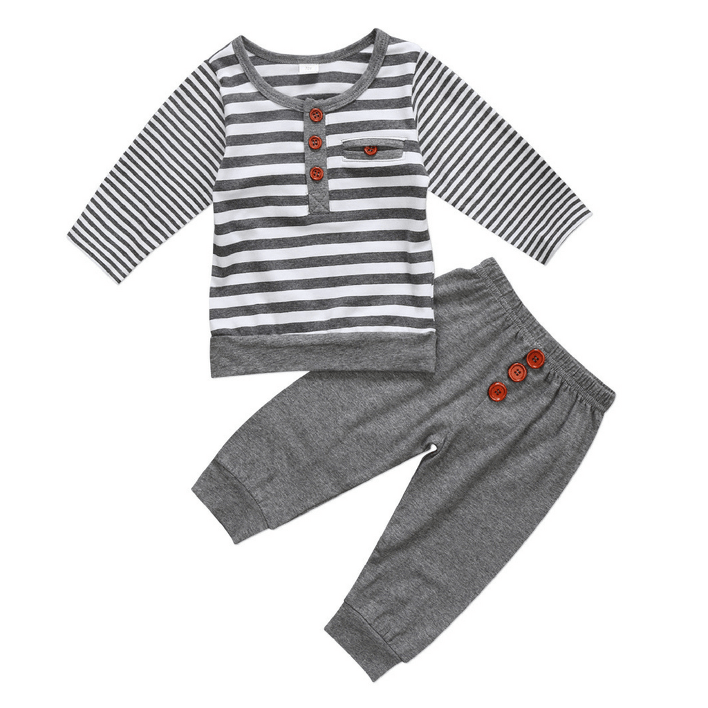 Easton Buttons Set - Rowley's Baby Boutique  - Express U.S. Delivery