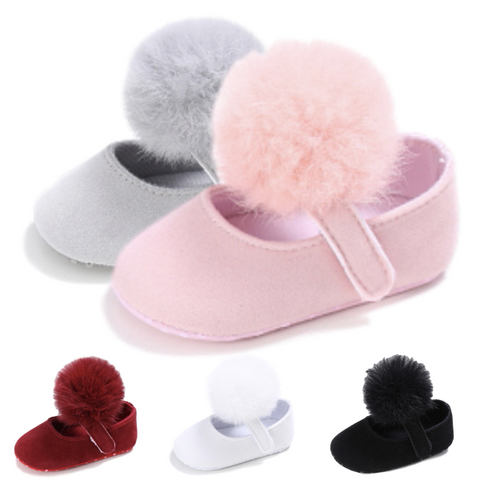 Quinn Fur Ball Shoes