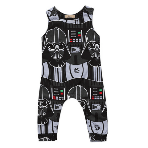 Darth Vader Romper - Rowley's Shop - 4 Days U.S. Delivery