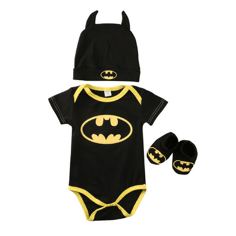 I'm Batman Short Set - Rowley's Baby Boutique  - Express U.S. Delivery