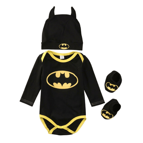 I'm Batman Long Set - Rowley's Baby Boutique  - Express U.S. Delivery