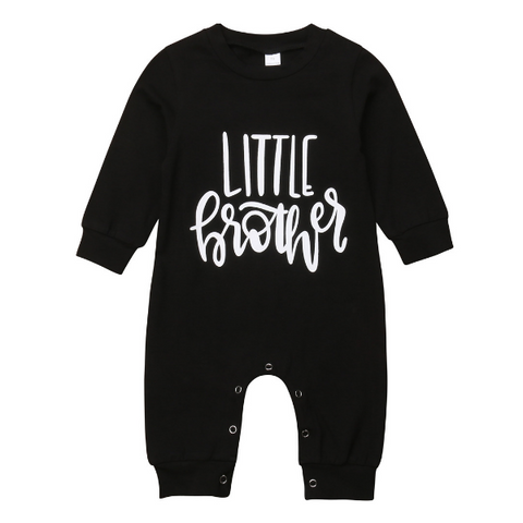 Little Brother Romper - Rowley's Baby Boutique  - Express U.S. Delivery