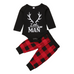 Little Man Plaid Set - Rowley's Baby Boutique  - Express U.S. Delivery