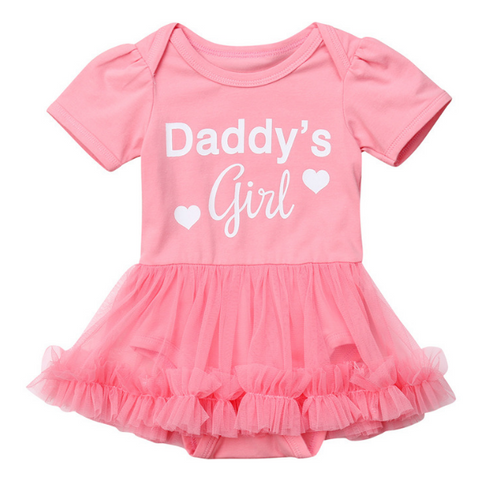Daddy's Girl Dress - Rowley's Baby Boutique  - Express U.S. Delivery