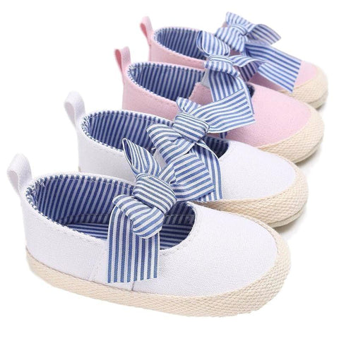 Ava Bowknot Shoes - Rowley's Baby Boutique  - Express U.S. Delivery