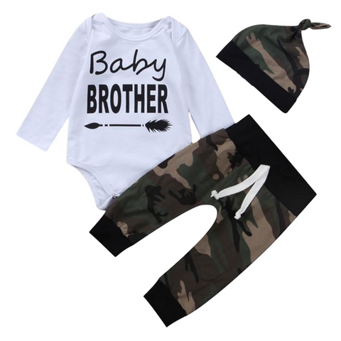 Baby Brother Camo Set - Rowley's Shop - 4 Days U.S. Delivery