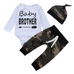 Baby Brother Camo Set - Rowley's Baby Boutique  - Express U.S. Delivery