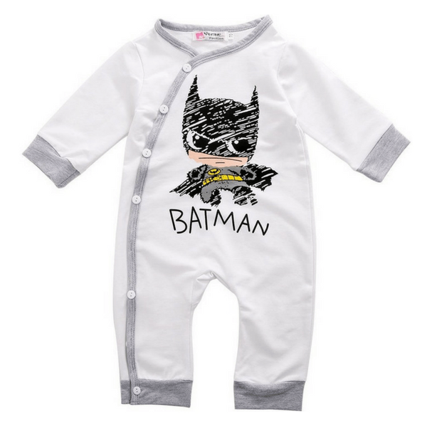 Batman Romper - Rowley's Baby Boutique  - Express U.S. Delivery