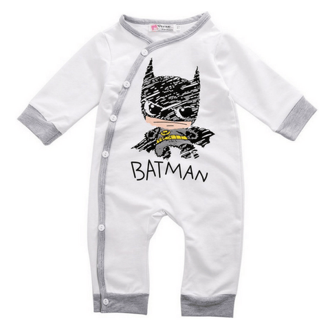 Batman Romper - Rowley's Shop - 4 Days U.S. Delivery