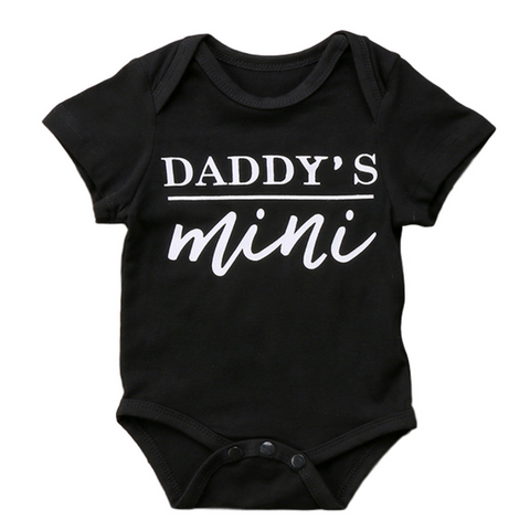 Daddy's Mini - Rowley's Baby Boutique  - Express U.S. Delivery