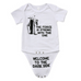 Dark Side Bodysuit - Rowley's Baby Boutique  - Express U.S. Delivery