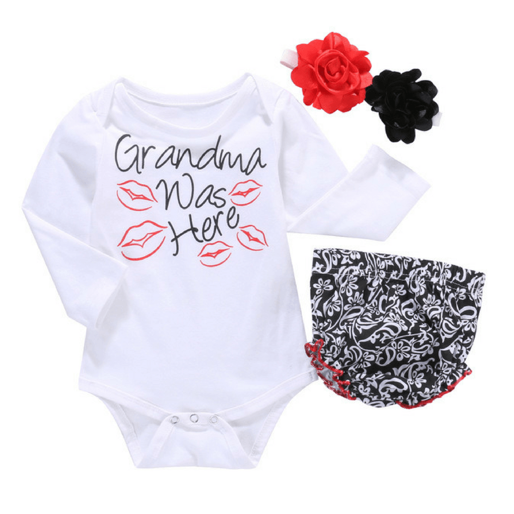 Grandma Was Here - Rowley's Baby Boutique  - Express U.S. Delivery