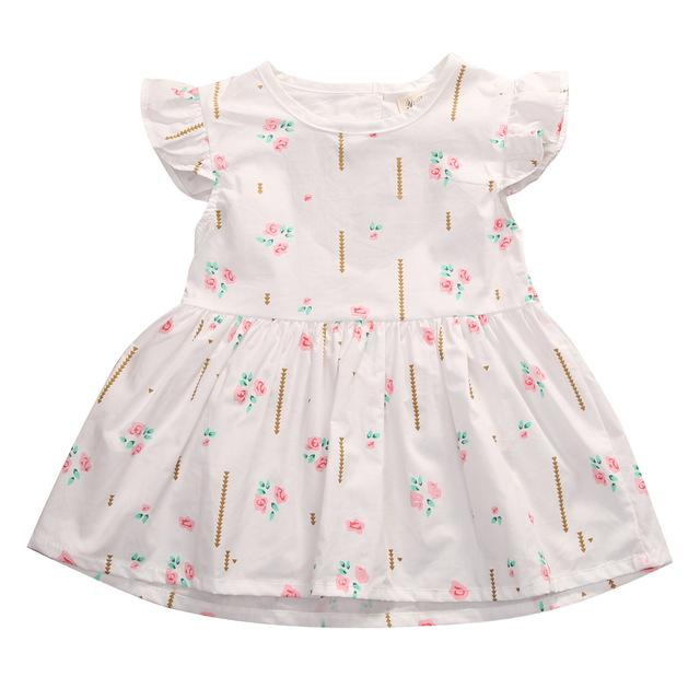 Grace Floral Dress - Rowley's Baby Boutique  - Express U.S. Delivery