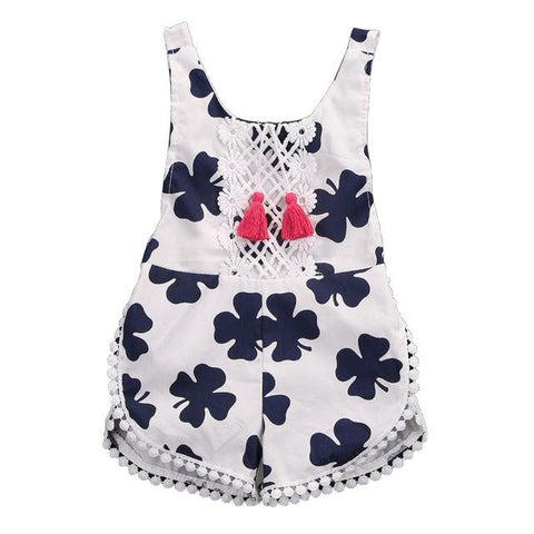 Clovers Playsuit - Rowley's Baby Boutique  - Express U.S. Delivery