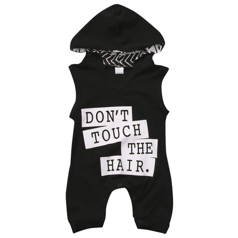 Don't Touch The Hair - Rowley's Baby Boutique  - Express U.S. Delivery