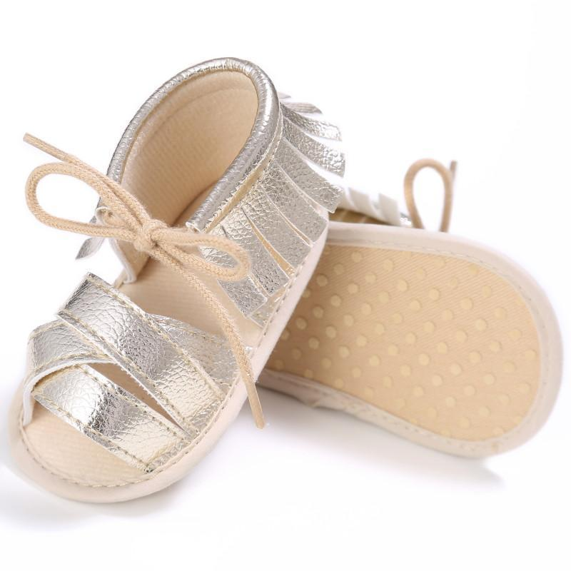 Harper Tassel Sandals - Rowley's Baby Boutique  - Express U.S. Delivery