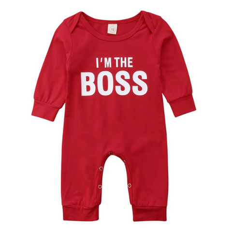 I'm The Boss - Rowley's Baby Boutique  - Express U.S. Delivery