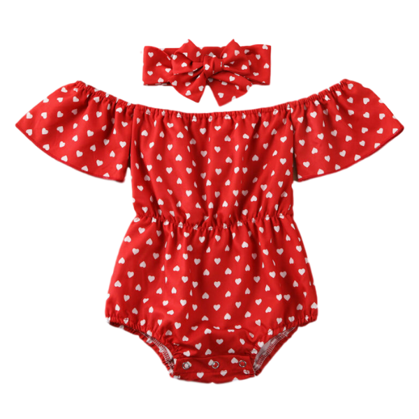 Baby Hearts Playsuit