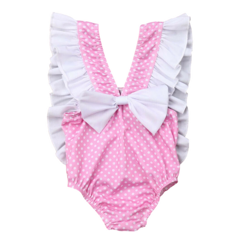 Pinki Dots Swimsuit