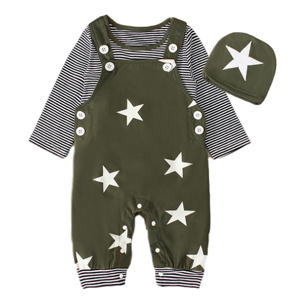 My Striped Stars Set
