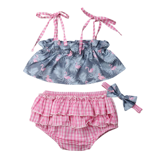 Pink Flamingo Set