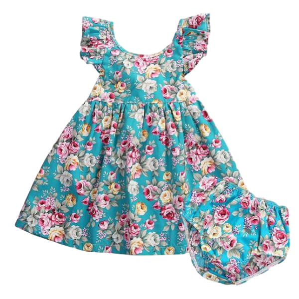 Samantha Floral Sundress