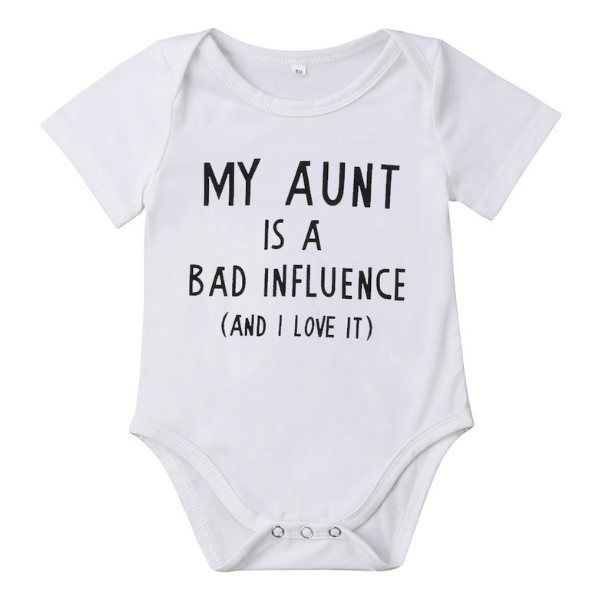 Influence By My Aunt - Rowley's Baby Boutique  - Express U.S. Delivery