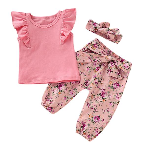 Abigail's Blossom Set - Rowley's Baby Boutique  - Express U.S. Delivery